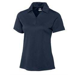 Ladies Genre Golf Shirt  Navy Only