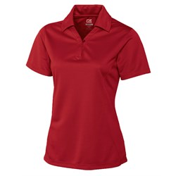Ladies Genre Golf Shirt  Red Only