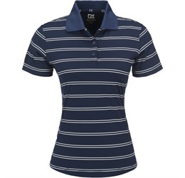 Golfers - Ladies Hawthorne Golf Shirt  Navy Only