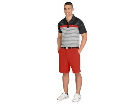 Cutter and Buck Mens Skyline Golf Shirt in Black Code CB-9900