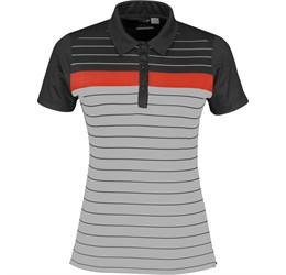 Ladies Skyline Golf Shirt  Black Only