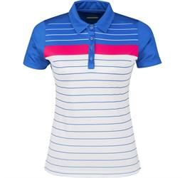 Ladies Skyline Golf Shirt  Blue Only