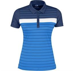 Ladies Skyline Golf Shirt  Navy Only