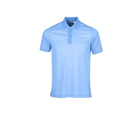 Mens Compound Golf Shirt  Light Blue Only