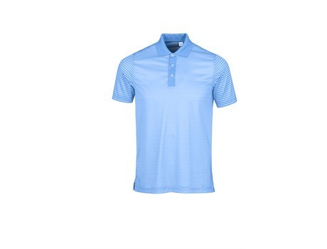 Cutter and Buck Mens Compound Golf Shirt in Light Blue Code CB-9902