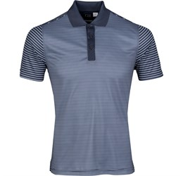Golfers - Mens Compound Golf Shirt  Navy Only