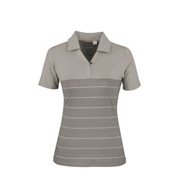 Ladies Streak Golf Shirt  Grey Only