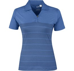Ladies Streak Golf Shirt  Royal Blue Only