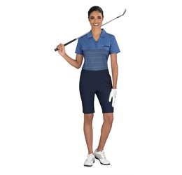 Golfers - Ladies Streak Golf Shirt