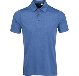 Golfers - Mens Legacy Golf Shirt  Royal Blue Only