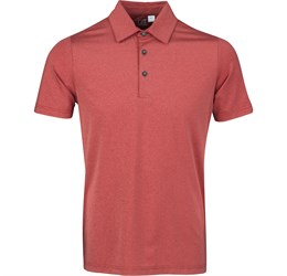 Golfers - Mens Legacy Golf Shirt  Red Only