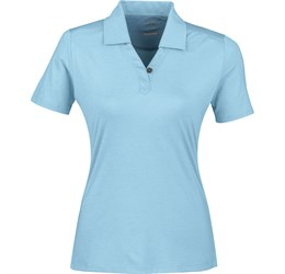 Ladies Legacy Golf Shirt  Light Blue Only