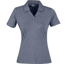 Ladies Legacy Golf Shirt  Navy Only