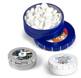 ClicClac Tin With SugarFree Mints