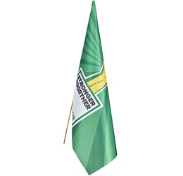 Champion Standard Hand Flag  180cm x 120cm