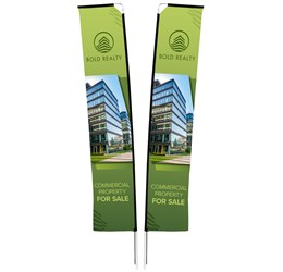 Legend 4m Telescopic DoubleSided Flying Banner