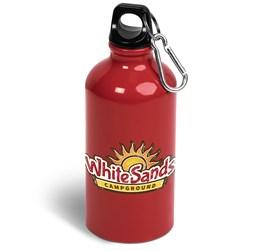 Braxton Water Bottle  500ml  Red Only