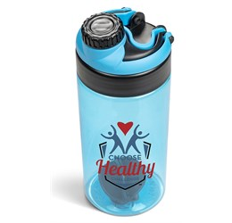 Gianna Water Bottle Protein Shaker  Cyan Only