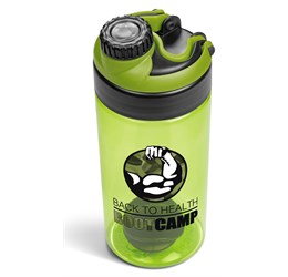 Gianna Water Bottle Protein Shaker  Lime Only