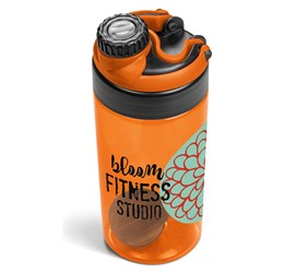 Gianna Water Bottle Protein Shaker  Orange Only