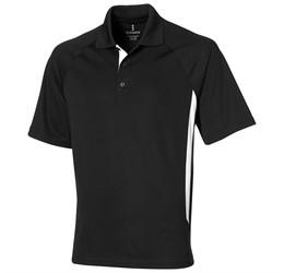 Golfers - Mens Mitica Golf Shirt  Black Only