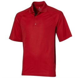 Golfers - Mens Mitica Golf Shirt  Red Only