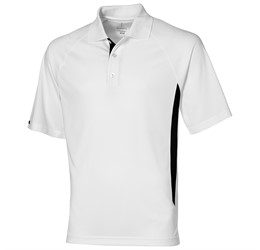 Golfers - Mens Mitica Golf Shirt White Only