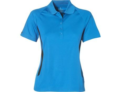 Elevate Ladies Mitica Golf Shirt in Blue Code ELE-4005