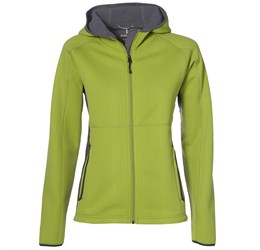 Ladies Ferno Bonded Knit Jacket  Lime Only