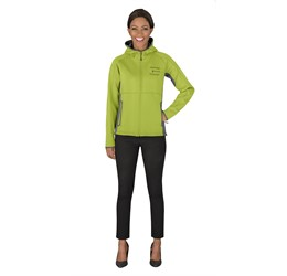 Ladies Ferno Bonded Knit Jacket