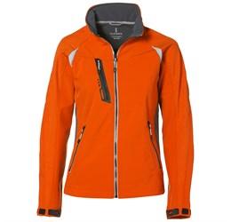 Ladies Katavi Softshell Jacket  Orange Only