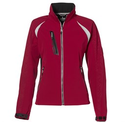Ladies Katavi Softshell Jacket  Red Only