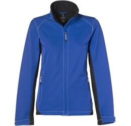 Ladies Iberico Softshell Jacket  Blue Only