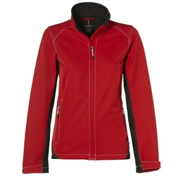 Ladies Iberico Softshell Jacket  Red Only
