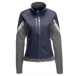 Ladies Jozani Hybrid Softshell Jacket  Navy Only