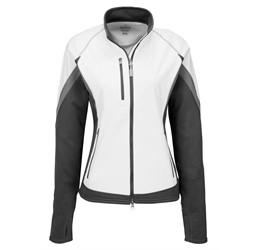 Ladies Jozani Hybrid Softshell Jacket  White Only