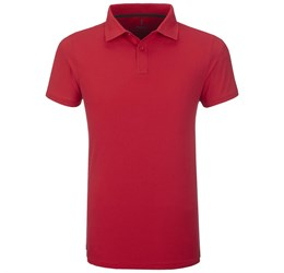 Golfers - Mens Calgary Golf Shirt  Red Only