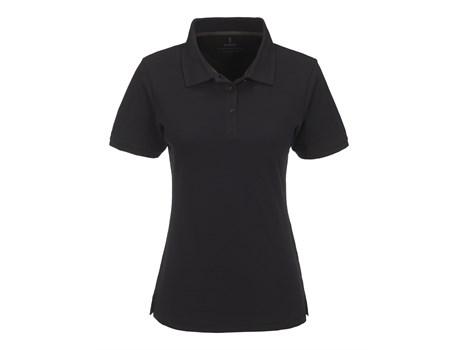 Elevate Ladies Calgary Golf Shirt in Black Code ELE-5617