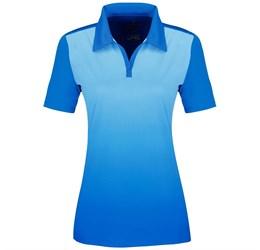 Golfers - Ladies Next Golf Shirt  Light Blue Only