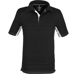 Golfers - Mens Prescott Golf Shirt  Black Only