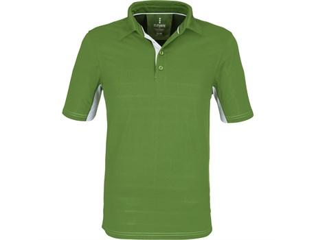 Elevate Mens Prescott Golf Shirt in Green Code ELE-6012