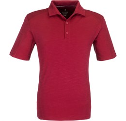 Golfers - Mens Jepson Golf Shirt  Red Only