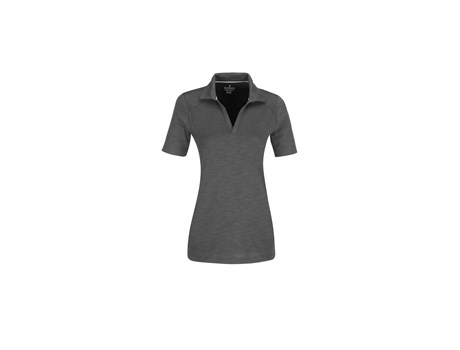Elevate Ladies Jepson Golf Shirt in Grey Code ELE-6015