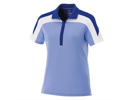 Elevate Ladies Vesta Golf Shirt in blue Code ELE-7301