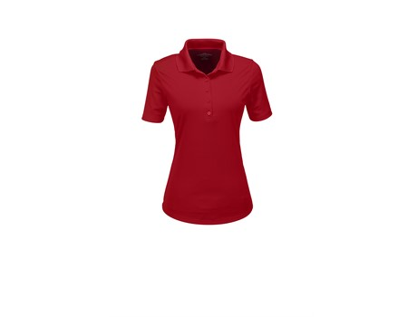 Elevate Ladies Edge Golf Shirt in Red Code ELE-7303