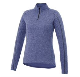 Ladies Taza 1/4 Zip Sweater  Blue Only