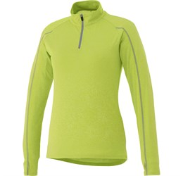 Ladies Taza 1/4 Zip Sweater  Lime Only