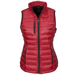 Ladies Scotia Bodywarmer  Red Only