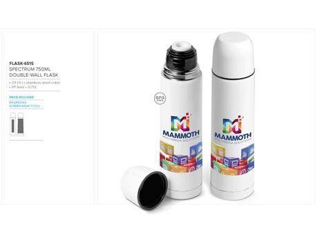 Spectrum 750Ml Double-Wall Flask | FLASK-6515