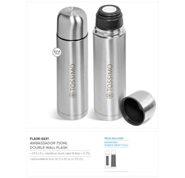 Ambassador Flask  750ml